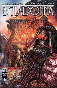 Cover Thumbnail for Belladonna (Avatar Press, 2015 series) #2 [Bloodlust Nude - Raulo Caceres]