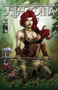 Cover Thumbnail for Belladonna (Avatar Press, 2015 series) #2 [Killer Body Nude - Renato Camilo]
