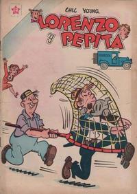 Cover Thumbnail for Lorenzo y Pepita (Editorial Novaro, 1954 series) #141