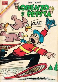 Cover Thumbnail for Lorenzo y Pepita (Editorial Novaro, 1954 series) #289