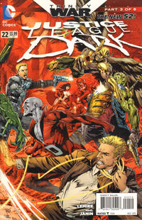 Cover Thumbnail for Justice League Dark (DC, 2011 series) #22 [Second Printing]