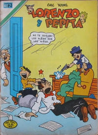 Cover Thumbnail for Lorenzo y Pepita (Editorial Novaro, 1954 series) #500