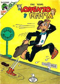 Cover Thumbnail for Lorenzo y Pepita (Editorial Novaro, 1954 series) #572