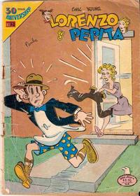 Cover Thumbnail for Lorenzo y Pepita (Editorial Novaro, 1954 series) #587