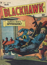 Cover Thumbnail for Blackhawk (Bell Features, 1949 series) #23