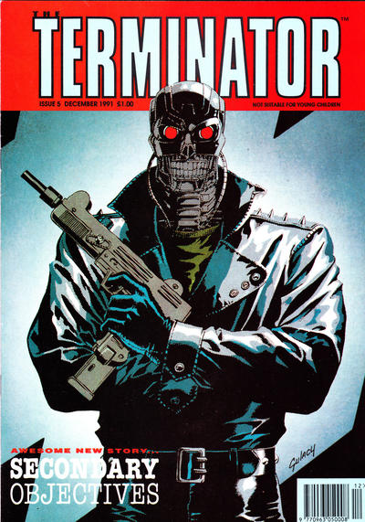 Cover for The Terminator (Trident, 1991 series) #5