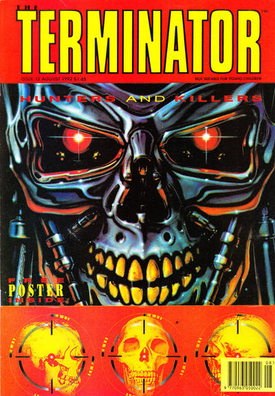 Cover for The Terminator (Trident, 1991 series) #12
