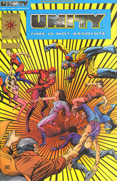 Cover for Unity (Acclaim / Valiant, 1992 series) #1 [Platinum Edition]