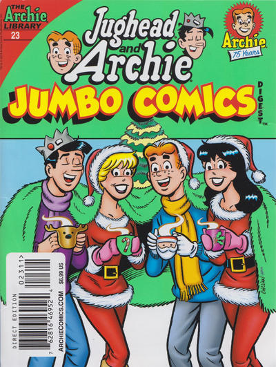 Cover for Jughead and Archie Double Digest (Archie, 2014 series) #23