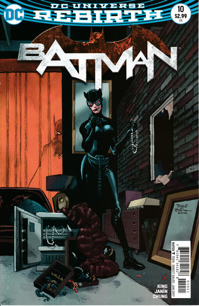 Cover for Batman (DC, 2016 series) #10
