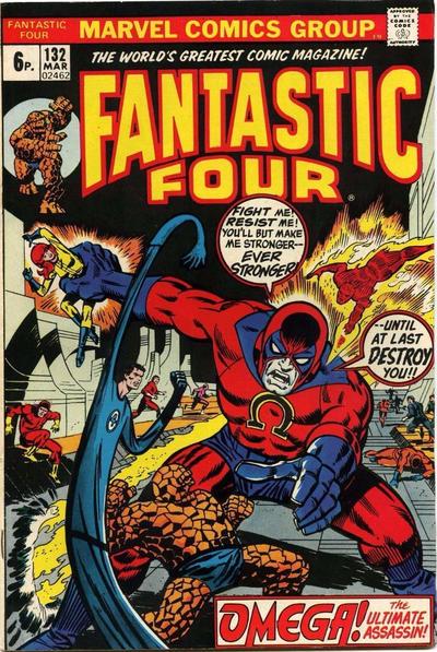 Cover for Fantastic Four (Marvel, 1961 series) #132 [Regular Edition]