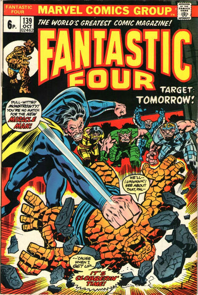 Cover for Fantastic Four (Marvel, 1961 series) #139 [Regular Edition]