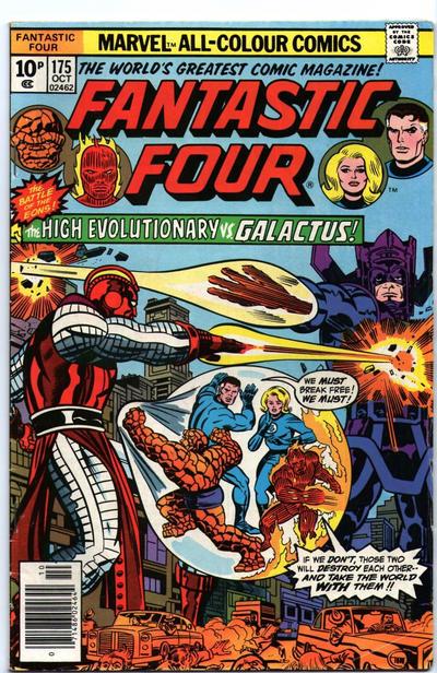 Cover for Fantastic Four (Marvel, 1961 series) #175 [Regular Edition]