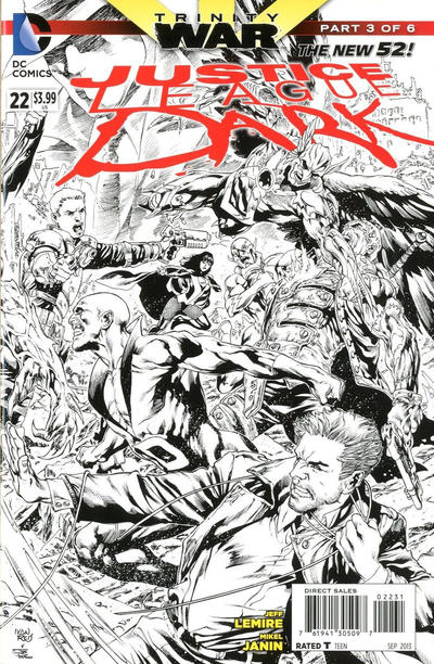 Cover for Justice League Dark (DC, 2011 series) #22
