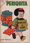 Cover for Periquita (Editorial Novaro, 1960 series) #56