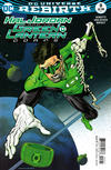 Cover Thumbnail for Hal Jordan and the Green Lantern Corps (2016 series) #8 [Kevin Nowlan Variant Cover]