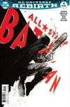 Cover for All Star Batman (DC, 2016 series) #4 [Variant Cover by Jock]