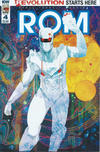 Cover for ROM (IDW, 2016 series) #4 [Regular Cover]