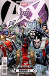 Cover Thumbnail for Avengers vs. X-Men (2012 series) #1 [Hastings Department Store Variant]