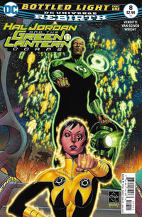 Cover Thumbnail for Hal Jordan and the Green Lantern Corps (DC, 2016 series) #8 [Ethan Van Sciver Cover]