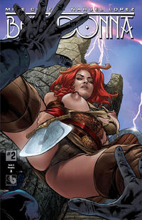 Cover Thumbnail for Belladonna (Avatar Press, 2015 series) #2 [Nude & Naughty A - Christian Zanier]