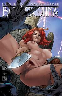 Cover Thumbnail for Belladonna (Avatar Press, 2015 series) #2 [Nude & Naughty B - Christian Zanier]
