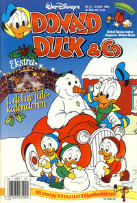 Cover Thumbnail for Donald Duck & Co (Hjemmet / Egmont, 1948 series) #47/1996
