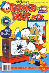 Cover Thumbnail for Donald Duck & Co (Hjemmet / Egmont, 1948 series) #43/1996