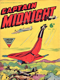 Cover Thumbnail for Captain Midnight (L. Miller & Son, 1950 series) #134