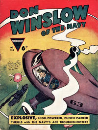 Cover Thumbnail for Don Winslow of the Navy (L. Miller & Son, 1952 series) #115