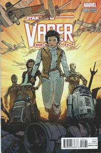 Cover Thumbnail for Star Wars: Vader Down (Marvel, 2016 series) #1 [Incentive Joelle Jones Variant]