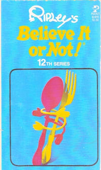 Cover Thumbnail for Ripley's Believe It or Not! (Pocket Books, 1941 series) #12 [81899]