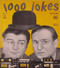 Cover Thumbnail for 1000 Jokes (Dell, 1939 series) #36