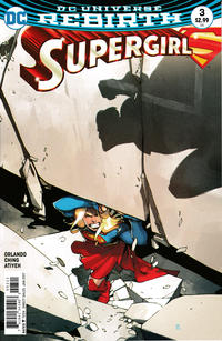 Cover Thumbnail for Supergirl (DC, 2016 series) #3 [Bengal Cover]