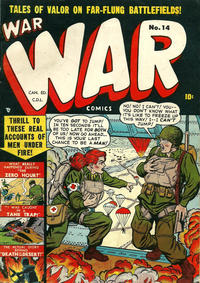 Cover Thumbnail for War Comics (Bell Features, 1951 ? series) #14
