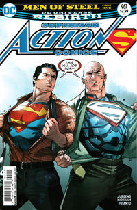 Cover Thumbnail for Action Comics (DC, 2011 series) #967