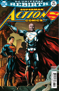 Cover Thumbnail for Action Comics (DC, 2011 series) #967 [Gary Frank]