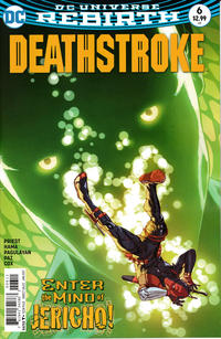 Cover Thumbnail for Deathstroke (DC, 2016 series) #6