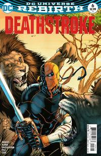 Cover Thumbnail for Deathstroke (DC, 2016 series) #6 [Shane Davis Cover]
