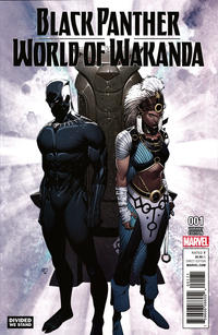Cover Thumbnail for Black Panther: World of Wakanda (Marvel, 2017 series) #1 [Incentive Khoi Pham 'Divided We Stand' Variant]