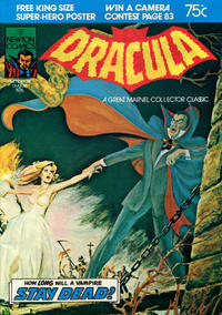 Cover for Tales of Horror Dracula (Newton Comics, 1975 series) #14