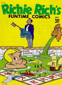 Cover Thumbnail for Richie Rich Funtime Comics (Magazine Management, 1975 ? series) #25165