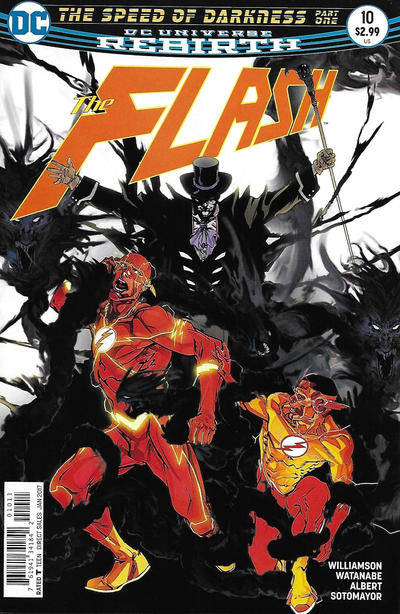Cover for The Flash (DC, 2016 series) #10 [Carmine Di Giandomenico Cover]