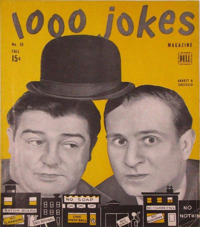 Cover for 1000 Jokes (Dell, 1939 series) #36