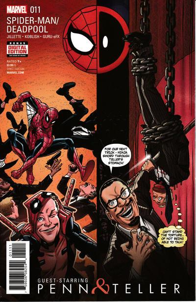 Cover for Spider-Man / Deadpool (Marvel, 2016 series) #11