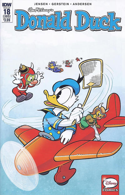 Cover for Donald Duck (IDW, 2015 series) #18 / 385