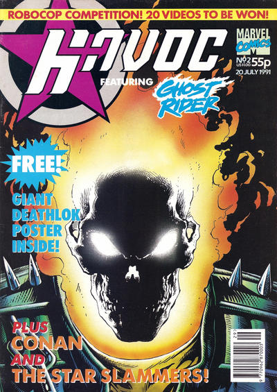 Cover for Havoc (Marvel UK, 1991 series) #2