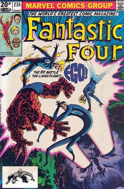 Cover for Fantastic Four (Marvel, 1961 series) #235 [Direct]
