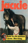 Cover for Jackie (Nordisk Forlag, 1974 series) #2