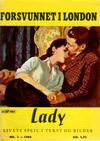 Cover for Lady (Serieforlaget / Se-Bladene / Stabenfeldt, 1964 series) #2/1964